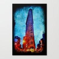 Flatiron NYC Canvas Print