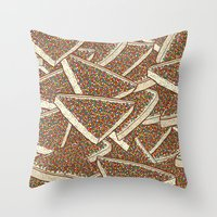Fairy Bread Throw Pillow