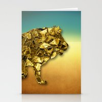 Animal Mosaic - The Lion Stationery Cards