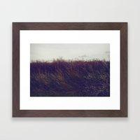 Autumn Field V Framed Art Print