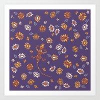 Floral #3 Art Print