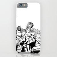 iPhone & iPod Case featuring Japanese School Girls  by parisian samurai studio