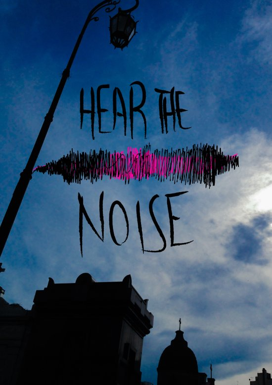 Hear the Noise Art Print