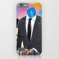 Plasticine man in a suit. iPhone 6 Slim Case