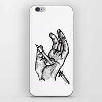 Hands of a killer  iPhone & iPod Skin