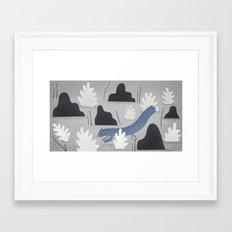 weasel away.  Framed Art Print