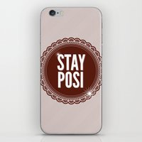 Stay Posi iPhone & iPod Skin