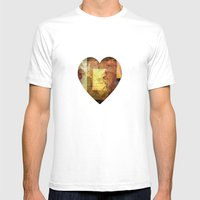 Brief Encounter Mens Fitted Tee White SMALL