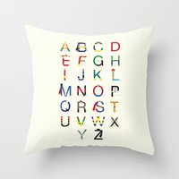 ABC SH Throw Pillow