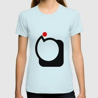 Cycle Womens Fitted Tee Light Blue SMALL