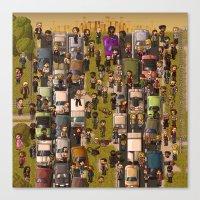 Super Walking Dead: Highway Canvas Print