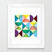 Geometry for Modern Houses (2010) Framed Art Print