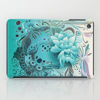 Subsea Floral iPad Case