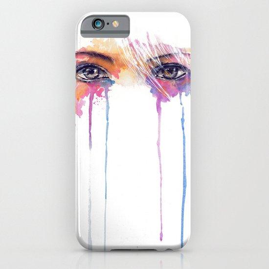 Rainbow Tears iPhone & iPod Case