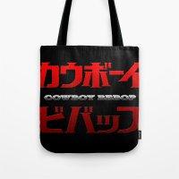 Cowboy Bebop Logo Remix Tote Bag
