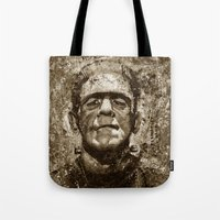 The Creature - Sepia Ver… Tote Bag