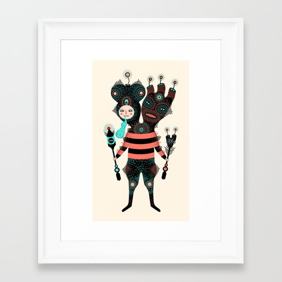 Kroxmogo Framed Art Print