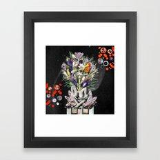 Hay For Brain Framed Art Print