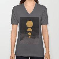 Rise of the golden moon Unisex V-Neck