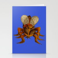 bee Stationery Cards featuring bee by giol's