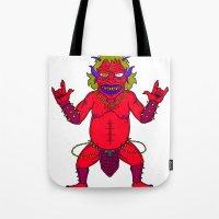 Fat Demon Tote Bag