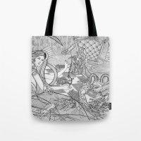 Chess Game / Original A4… Tote Bag