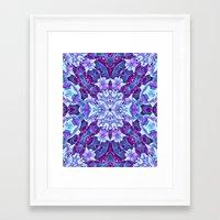 Tiny Stars Framed Art Print