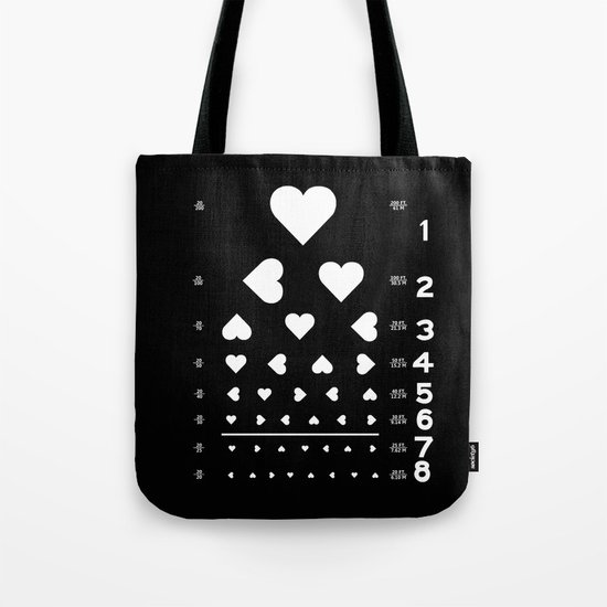 Can you see the love? Tote Bag