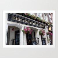 The Crutched Friar Pub L… Art Print