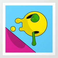 Colour Blob #4 Art Print