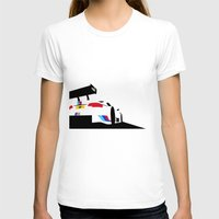 M3 DTM Womens Fitted Tee White SMALL