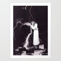 Traveling Light Art Print