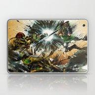 Laptop & iPad Skin featuring The Battlefield by Fresh Doodle - JP Va…