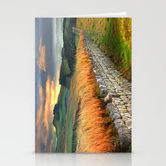 Hadrian's Wall Stationery Card