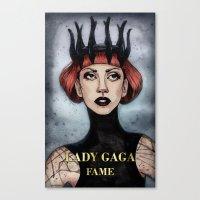 FAME II Canvas Print