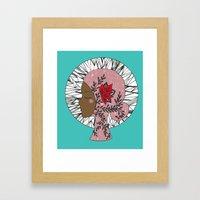 Goddess Mandala Framed Art Print