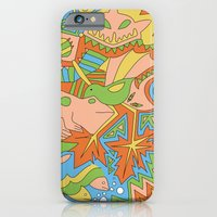 Abstract Animals iPhone 6 Slim Case