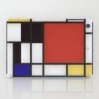 Piet Mondrian iPad Case