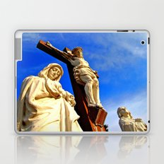 Artistic crucifixion  Laptop & iPad Skin