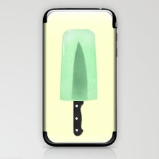 KNIFE POPSICLE iPhone & iPod Skin