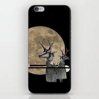 Moon Dance iPhone & iPod Skin