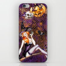 Halloween Witch #1 iPhone & iPod Skin