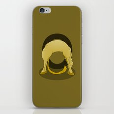 Pony Monogram Letter O iPhone & iPod Skin