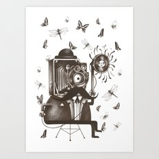 Photoshoot Art Print