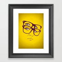 Y. Framed Art Print