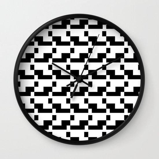 Blankaart Black & White Pattern Wall Clock