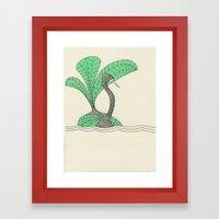 Vert Pale Pc 920 Framed Art Print
