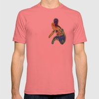 The Philippines as a Menagerie Mens Fitted Tee Pomegranate SMALL