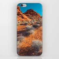 Valley Of Fire iPhone & iPod Skin