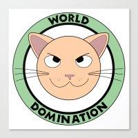World Domination III Canvas Print